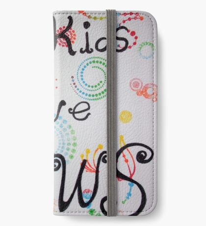 My kids have paws  iPhone Wallet/Case/Skin