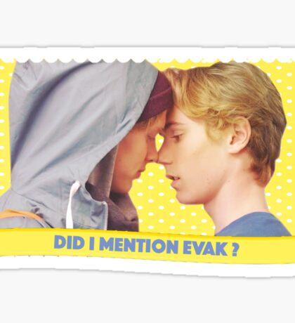 SKAM — EVAK Sticker