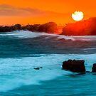 Golden Sunset by Radek Hofman