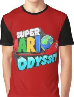 Super Mario Odyssey Graphic T-Shirt