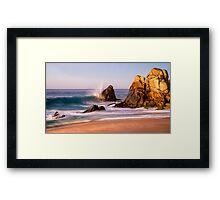 Morning Surge Framed Print