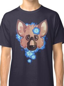 German Shepherd Flowerbed Classic T-Shirt