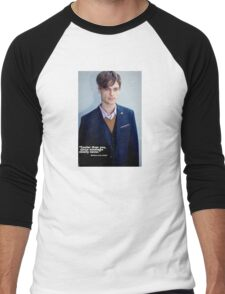 Matthew Grey Gubler Quote Men's Baseball ¾ T-Shirt
