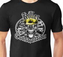 Construction Skull 1 yellow: Killer Construction Unisex T-Shirt