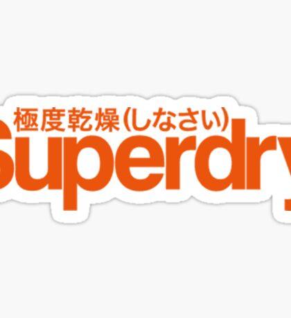 Superdry. Sticker