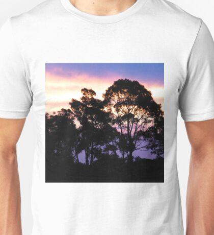 Sunset #3 - Eucalyptus tree Unisex T-Shirt