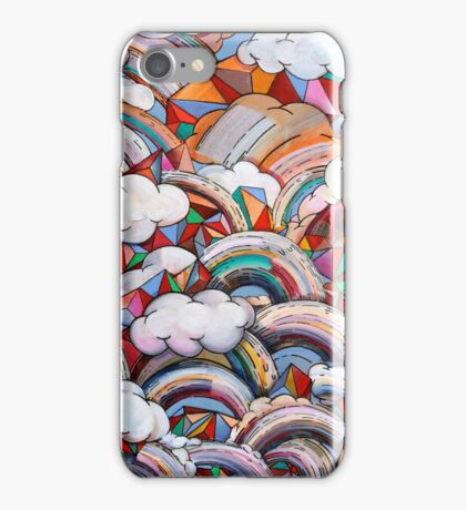 Dimensional Weather Report iPhone Case/Skin