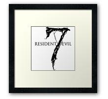Resident Evil 7 Framed Print