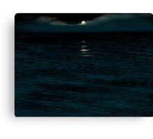 Moon Water Corriecravie Canvas Print