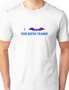 I Bat for Both Teams Unisex T-Shirt