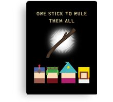 One Stick To Rule Them All Canvas Print