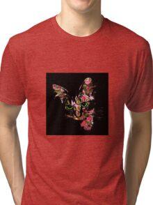 Psychedelic Kitten  Tri-blend T-Shirt