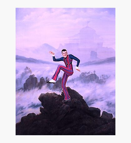 We are number one but it´s Wanderer above the Sea of Fog Photographic Print