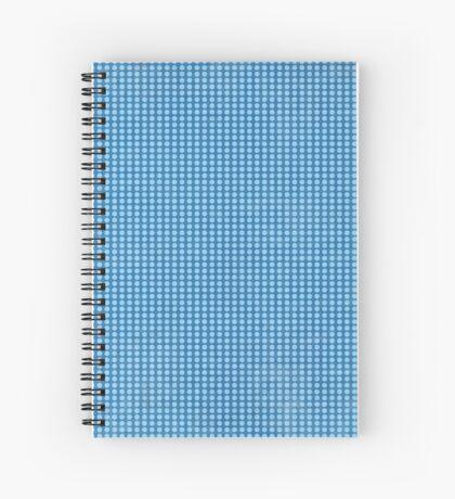 Blue polka Spiral Notebook