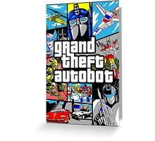 GTA G1 Greeting Card