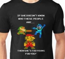 If she don't know her... Nintendo! Unisex T-Shirt