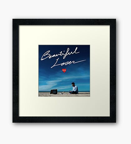Kyle Beautiful Loser Framed Print