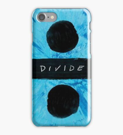 Ed Sheeran divide album cover iPhone Case/Skin