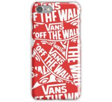 vans iPhone Case/Skin