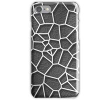 Abstract geometrical science concept voronoi low poly triangle tesselation iPhone Case/Skin