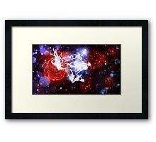 Fairy in the night garden Framed Print