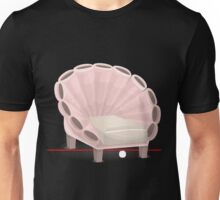 Glitch furniture armchair armchair pinkseashell Unisex T-Shirt