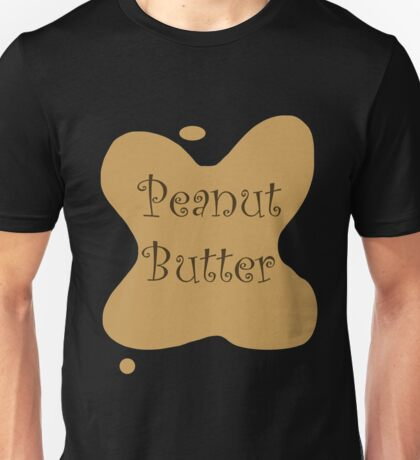 Peanut Butter & Jelly Couples Halloween Costume - His & Hers Unisex T-Shirt