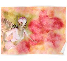 Fairy on Bokeh background Poster