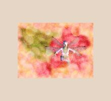 Fairy on Bokeh background 2 Womens Fitted T-Shirt