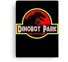 Dinobot Park Canvas Print