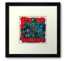 Walking dead art Framed Print