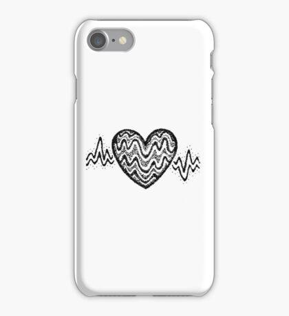 Heartbeat Sticker iPhone Case/Skin
