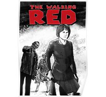 The Walking Red Poster