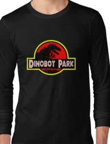 Dinobot Park Long Sleeve T-Shirt