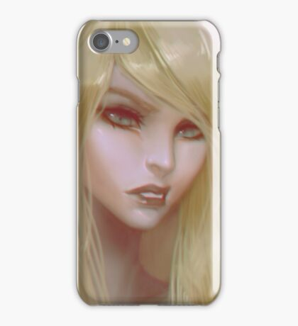 Evelastina Portrait iPhone Case/Skin