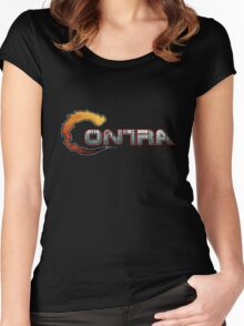 Contra NES Women's Fitted Scoop T-Shirt