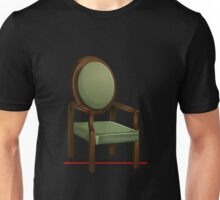 Glitch furniture armchair classic green armchair Unisex T-Shirt