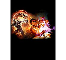 Mortal Kombat Vs Street Fighter Photographic Print