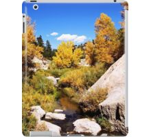 picture book fall iPad Case/Skin
