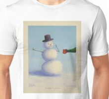 Should Frosty drink hot cocoa??? Unisex T-Shirt