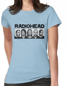 radiohead 1 Womens Fitted T-Shirt