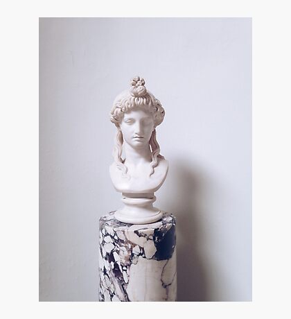 Grecian Bust   Photographic Print