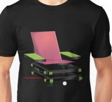 Glitch furniture armchair modern box armchair Unisex T-Shirt