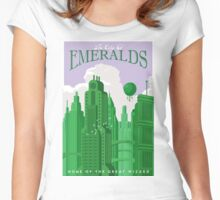 the city of emeralds  Women's Fitted Scoop T-Shirt