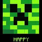 Minecraft Creeper Birthday by Addison