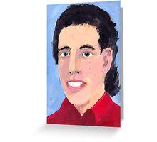 M. Seinfeld peints à l'huile Greeting Card
