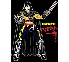 Darth Vega Photographic Print