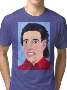 M. Seinfeld peints à l'huile Tri-blend T-Shirt