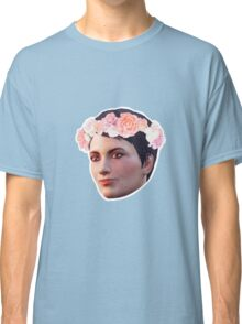 Curie Flower Crown Classic T-Shirt