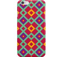 Geometric background iPhone Case/Skin
